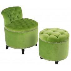 Комплект стул + пуф Greta