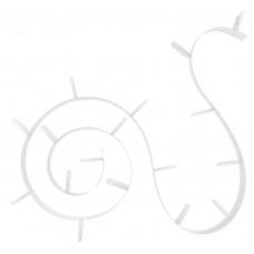 Полка книжная 8008 03/White