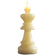 """Свеча / Шахматная фигура """"Король"""" / White / 07135BIA"""